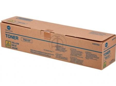 Original Konica Minolta Toner TN213Y yellow A0D7252 - reduziert