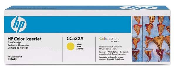 Original HP CLJ Toner CC532A yellow - reduziert
