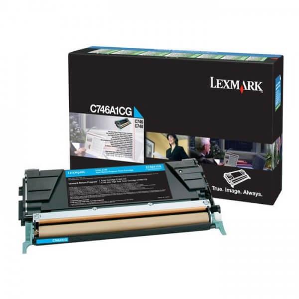 Lexmark Toner C746A1CG cyan