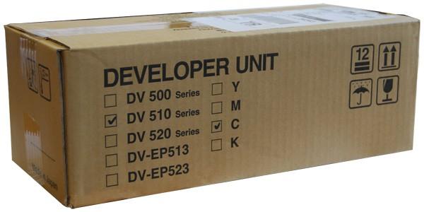Original Kyocera DV-510C Entwicklereinheit cyan - reduziert