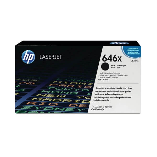 HP Toner 646X CE264X black