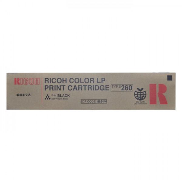 Original Ricoh Toner 888446 Type T260 black - Neu & OVP