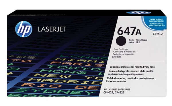 HP Color Laserjet Toner CE260A black
