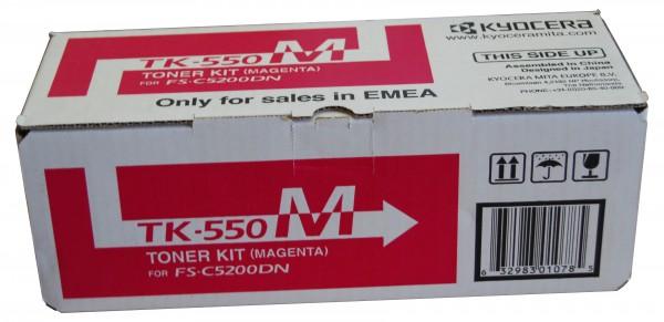 Original Kyocera Toner TK-550M magenta - Neu & OVP
