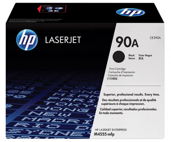 Original HP Laserjet Toner CE390A black - Neu & OVP