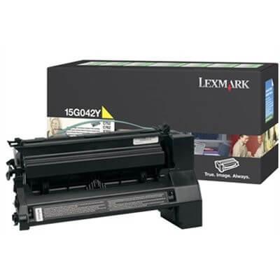 Lexmark Toner 15G042Y yellow