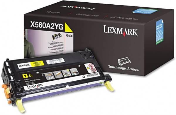 Lexmark Toner X560A2YG yellow