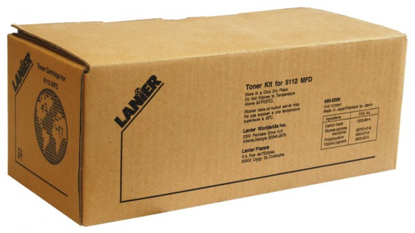Original Lanier Toner 480-0006 4900 / 5112 MFD black - Neu & OVP