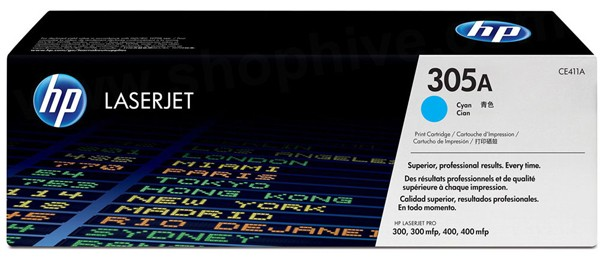 HP Laserjet Toner CE411A cyan