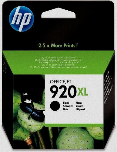 HP Nr. 920XL Tinte CD975AE black