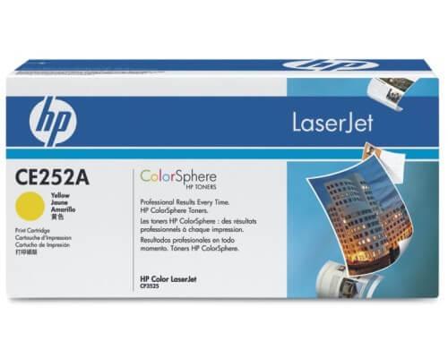 HP Color Laserjet Toner CE252A yellow