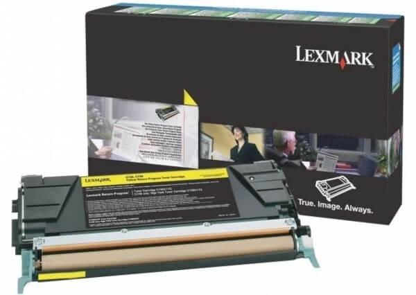 Lexmark Toner X746A3YG yellow