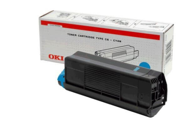 Original OKI Toner 42127407 cyan - Neu & OVP