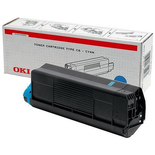 Original OKI Toner 42804507 cyan - reduziert