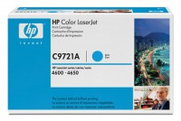Original HP Color Laserjet Toner C9721A cyan - Neu & OVP
