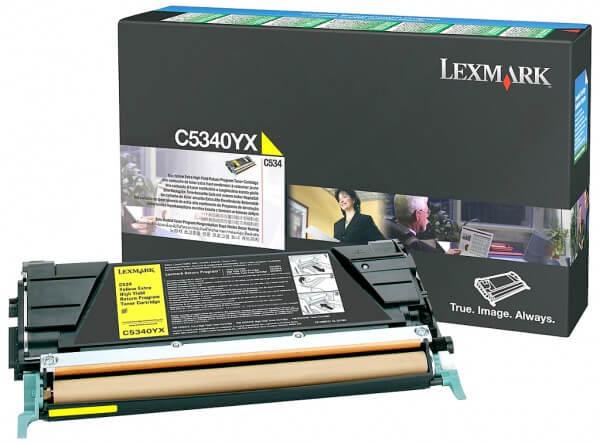 Lexmark Toner C5340YX yellow - reduziert