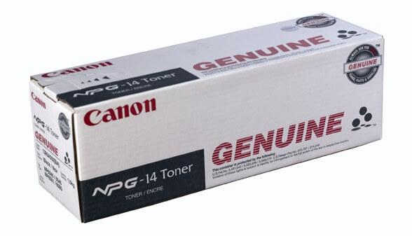 Original Canon Toner NPG-14 Toner black - reduziert