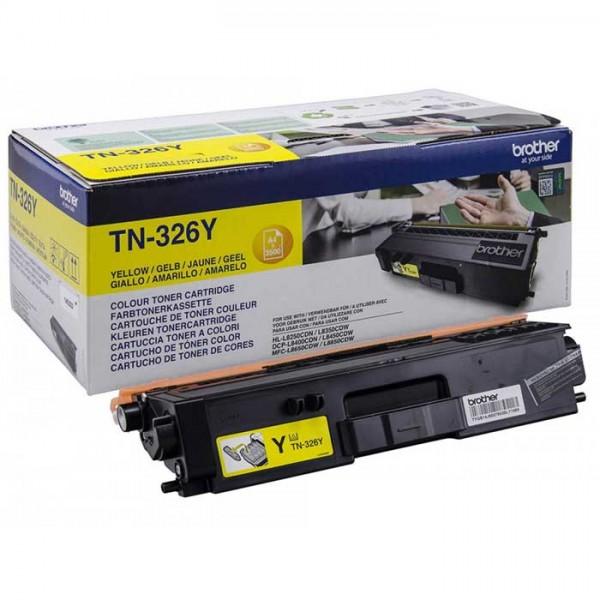 Original Brother Toner TN-326Y yellow - Neu & OVP