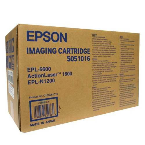 Original Epson Imaging Cartridge S051016 black - reduziert