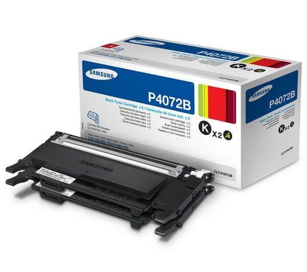 Original Samsung Toner CLT-P4072B Doppelpack black - Neu & OVP