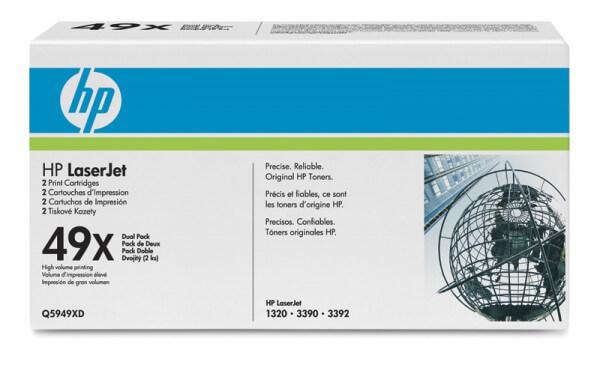 HP Laserjet Toner Q5949XD Doppelpack black