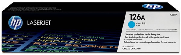 HP Laserjet Toner CE311A cyan