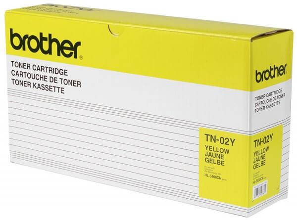Brother Toner TN02-Y yellow - reduziert