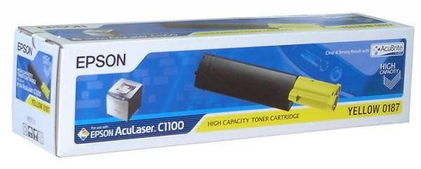 Epson AcuLaser Toner S050187 yellow