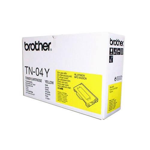 Original Brother Toner TN-04Y yellow - reduziert