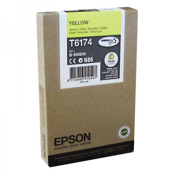 Original Epson T6174 Tinte C13T617400 yellow - C-Ware