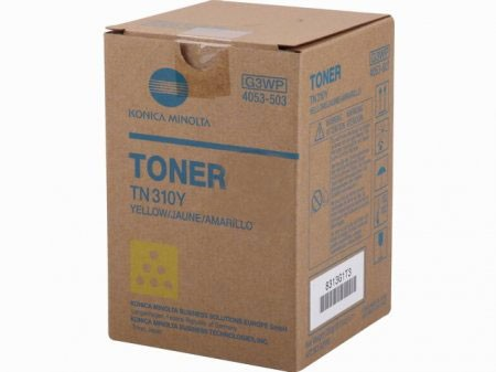 Original Konica TN-310Y Toner 4053-503 yellow - Neu & OVP