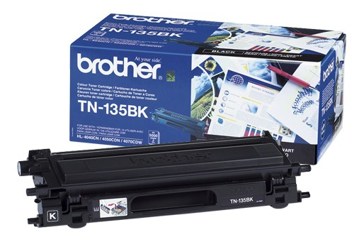 Original Brother Toner TN-135K black - reduziert