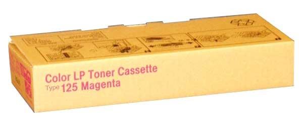 Ricoh Toner 400840 Type 125 magenta