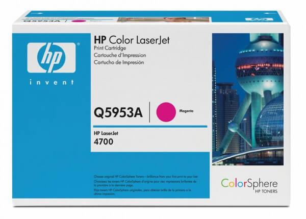 Original HP Color Laserjet Toner Q5953A magenta - reduziert