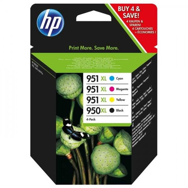 Original HP Nr. 950/951XL ;bk;c;m;y Tinte C2P43AE color - Neu & OVP