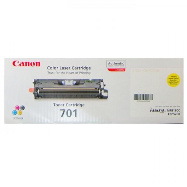 Canon 701 Toner 9284A003 yellow - reduziert