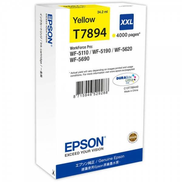 Epson Tinte C13T789440 yellow XXL