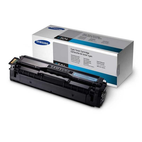 Original Samsung CLT Toner CLT-C504S cyan - Neu & OVP