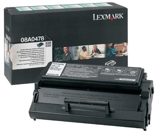 Lexmark Toner 08A0478 black