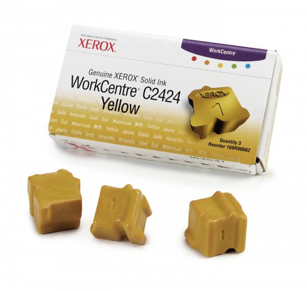Xerox Solid Ink Sticks 108R00662 yellow