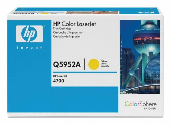 HP Color Laserjet Toner Q5952A yellow - reduziert