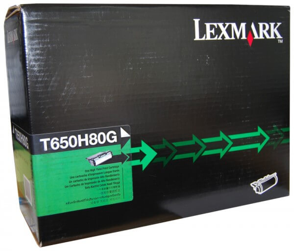 Lexmark Toner T650H80G black - reduziert