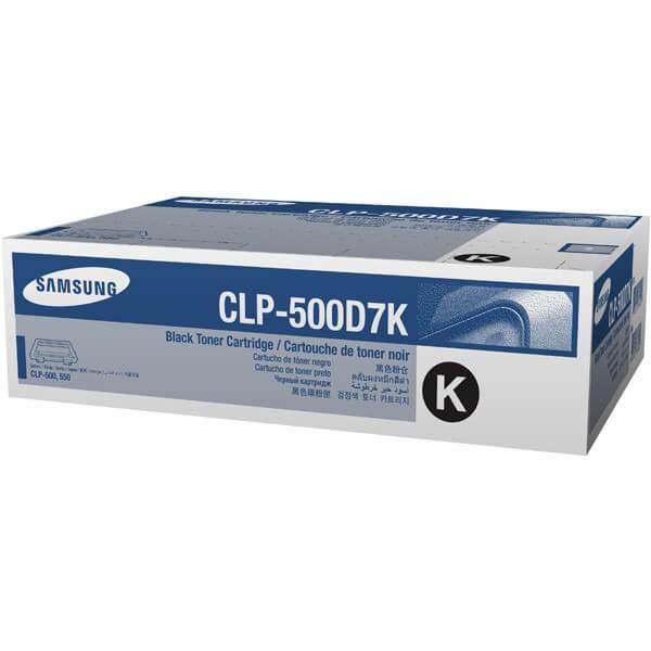 Samsung CLP Toner CLP-500D7K black - reduziert