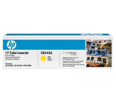 HP Color Laserjet Toner CB542A yellow