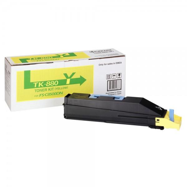 Kyocera TK-880Y Toner yellow