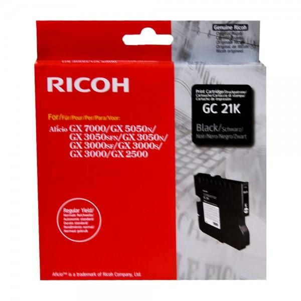Original Ricoh Tinte GC-21k black - Neu & OVP