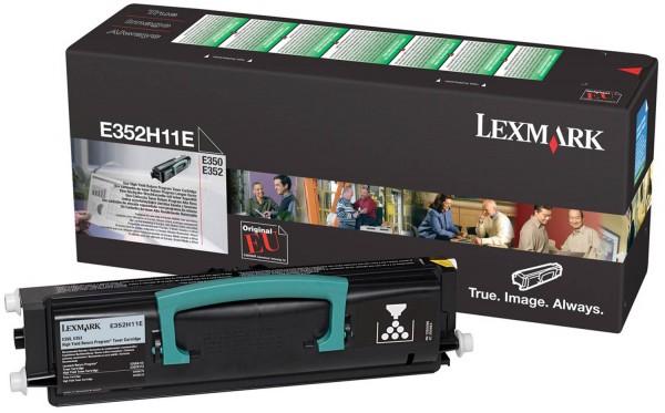 Lexmark Toner E352H11E black