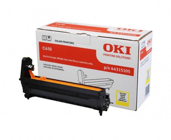 Original OKI Drum Unit 44315105 yellow - Neu & OVP