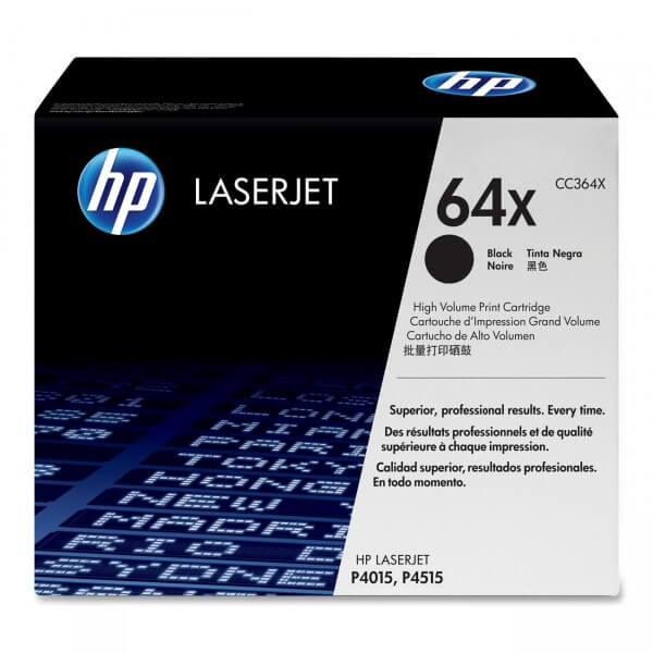 Original HP Laserjet Toner CC364X black - reduziert
