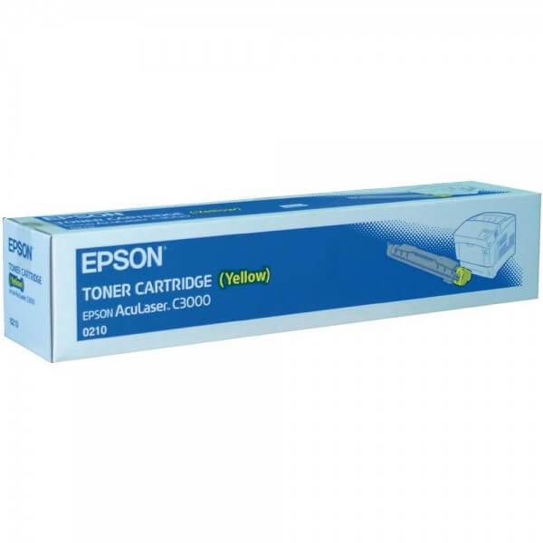 Original Epson AcuLaser Toner S050210 yellow 0210 - Neu & OVP